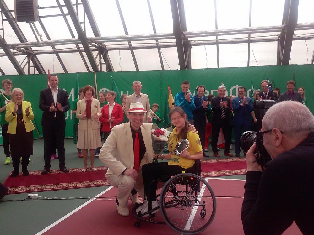 Тольяттинские ротарианцы оказывают помощь будущим паралимпийцам