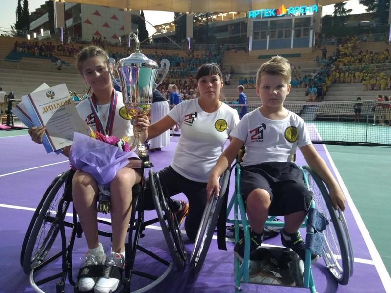 Помощь спортсменам – будущим паралимпийцам